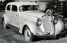 Aerodynamic var det tidsenliga namnet på denna modell från 1934 och 35.