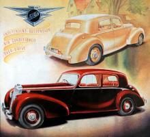 Futtiga 15 exemplar byggdes av Jensen PW (som väl måste betyda Post War?). Nash-motorerna var i alla fall av Pre War-typ…