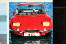 Visst är den ful! Matra M 530 hade Ford V4-motor och var utseendet till trots fyrsitsig. Extra märkligt då motorn, som i de andra sportcoupéerna från Matra, är placerad framför bakaxeln. Höga poäng i förpackningskonst.