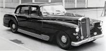 Som en förfärlig Mercedes 300, men detta är vad karosserifirman Spohn åstadkom 1951 på ett SW38-chassi. Den stilblandade fulingen användes i många år som direktionsbil.