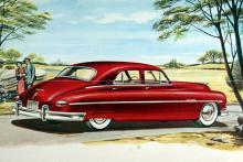 """""""Mellanprisklassens karaktärsbil"""" var kanske inte världens bästa slogan. Likväl var 1949 års Packard en fin vagn på ett tilltalande diskret sätt."""