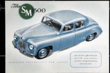 SM 1500 var en relativt välbyggd bil med ett av bilvärldens mest anonyma utseenden.  I produktion åren  1949–54 och  byggd i  17382  exemplar.