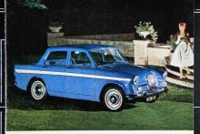 Singer Vogue var en glorifierad Hillman Super Minx. Byggdes i detta utförande åren 1961–64 i nästan 30000 exemplar.