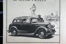 1947 lanserades åter Singer Super-Twelve, en bil som också byggts före kriget. Välbyggd men ingen storsäljare. Bara 1098 ex tillverkades.