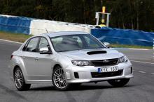 Provkörning: Subaru STI Racing