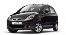 Chevrolet Matiz – minst antal hk.