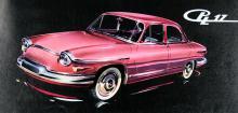 1961 års PL 17 hade tvåcylindrig motor på 42 hästkrafter. Fanns även som pickup och skåp.