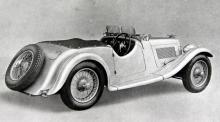 1937–39 byggdes 75 exemplar av 15/98 med kort hjulbas, här med 2+2-karosseri. En tvåliters fyra med magntettändning och dubbla SU-förgasare, mekaniska bromsar.