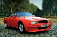 Virage Volante gjorde 1990 0 till 100 på 6,7 sekunder och toppade 250 km/tim. Tvåsitsig 1990, 2+2 1991.
