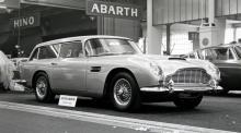 Aston Martin Shooting Brake väckte uppståndelse när den visades på Paris-salongen hösten 1965. Bara tolv exemplar kom att byggas, det första av Tickford i Newport Pagnell.