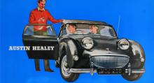 """Grodögat! En av världens gulligaste bilar påstods ha """"en stor vagns prestanda"""". Motorn hade dubbla förgasare och utvecklade """"48 bromsade hk (SAE) vid 5 000 varv/min!"""""""