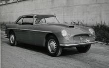 Bristol Zagato Grand Touring med italiensk specialkaross och trimmad 406-motor.