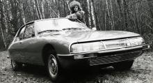Ett rymdskepp med franskitalienska föräldrar: Citroën(-Maserati) SM från 1970.