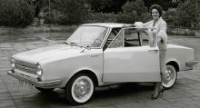 Flott värre med italienskritad kaross! Glas Coupé S 1004 tillverkades 1962 och 63. De 42 hästarna gav en toppfart på 135 knutar.