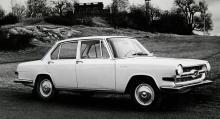Glas 1700 var firmans första mellanklassbil, i storlek och proportioner ganska lik konkurrenten BMW 1800. 13789 såna här vagnar tillverkades, men har du sett någon?