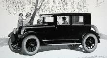 1924 års Super-Six med så kallat Coach-karosseri – en vanlig täckt tvådörrarskaross.