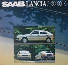 Saab Lancia 600 kallades denna kantiga lilla vagn i Sverige, men sanningen var förstås att det är en Lancia Delta, presenterad i september 1979.