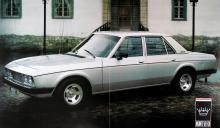 1975 var sista året Monteverdi byggde helt egna sport- och prestigevagnar. 1977 lanserades denna femsitsiga sedan.