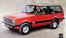 Våren 1976 lanserades Monteverdi Safari, en terrängduglig pjäs med för märket traditionell Chrysler-motorisering. International-baserad.