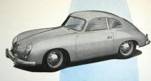 Detta är en bil från 1953 eller 54. Fanns att köpa med 1300- och 1500-motorer, från 44 till 70 hästkrafter. Det räckte till 145 respektive 170 knutars toppfart.