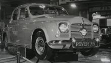 Cyklopöga, pontonkaross och rattväxelspak – Rover-vännerna blev bestörta över 1950 års nya djärva grepp.