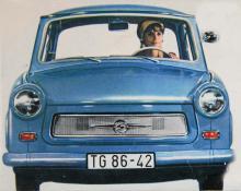 Bokstaven S mitt i grillen betyder varken Sport eller Spezial utan Sachsenring Automobilwerke, fabrikens namn alltså. Så här såg Trabant 601 ut i decennier – varför ändra på ett framgångsrecept?