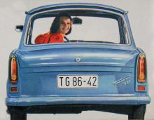 Trabant 601.