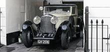 Åttalitersmodellen var störst och byggdes bara i 100  exemplar – det ursprungliga Bentleys svanesång.