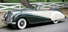 Kalifornisk renovering av en drophead, som engelsmännen säger när det menar cabriolet, från 1954.
