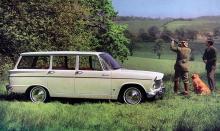 Herrgårdsvagnen Super Minx fick 1965/66 en 1 725-kubiksmotor på 97 hästar.