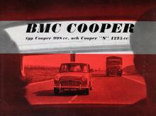 Cooper S i första utförandet från 1963 blev en verklig hit.