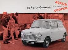 Austin Mini Saloon Cooper 1960 var avsedd för motorvägskörning!