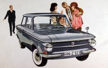 Prinz 4, det rökande innefolkets bil i tolv år, ty så länge byggdes modellen, hela tiden utan några större förändringar.