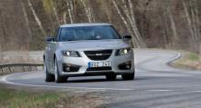 Saab 9-5, årsmodell 2011.