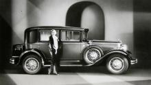 En femsitsig Studebaker Straight 8 Commander Brougham av 1929 års modell. Commander fanns också med sexa men åttacylindrigt hörde tiden till. När 29:orna lanserades hösten 1928 visste man ju ingenting om den kommande börskraschen...
