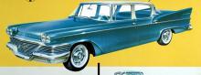 Studebaker gick  ihop med Packard  i oktober 1954. Samma år som den  här vagnen byggdes,  1958, tillverkades också  den sista Packard-bilen. Comman- der-motorn var en V8 och Champion en sexa. De fräsiga tvådörrarsmodellerna Hawk hade en helt annan typ av front.