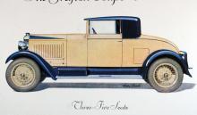 Vauxhall 20-60 från slutet av 20-talet byggdes i drygt  5 000 exemplar. Detta är The Grafton Coupé-Cabriolet.