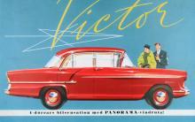 Victor kom 1957 och gjorde sensation med sin panoramaruta. Försökte se ut som en Cheva 55:a och misslyckades kapitalt.
