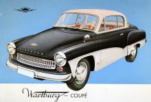 En stilig coupé med färgdelning som i bästa fall för tankarna till Austin-Healey. Där upphör likheterna.