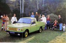 Wartburgs funktionalism tilltalade uppenbarligen alla sorters bilälskare. Pickup-versionen lastade 500 kilo och byggdes i årtionden.