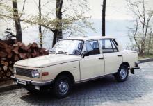 New look för Wartburg kom 1967. Praktiskt måhända med funkisformer men vackert var det knappast.