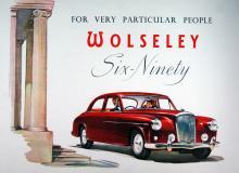 Six-Ninety från slutet av 50-talet hade rak toppventilsexa och karossen var lånad från Riley Pathfinder.