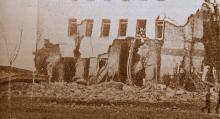 Stadshuset i Kemi, 1944.