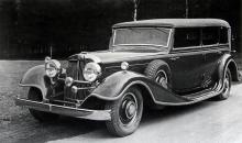 Horch 600 Pullman-cabriolet hade V12-motor på 120 hästkrafter. Drygt fem och en halv meter lång, byggdes åren 1932–33 i bara 20 exemplar.