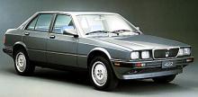 422 var en liten fyrdörrars-Maserati med 220 hästar stark V6-motor på två liter.