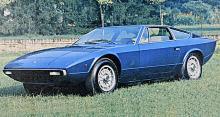 421 stycken Khamsin producerades 1973–82. femliters V8-motor på 320 hk.