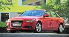 Nuvarande Audi A4.