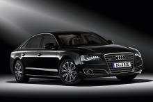 Audi A8 L Security.
