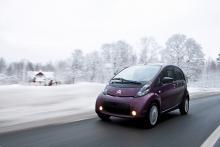 Citroën C-Zero tillhör  de första i den nya  generationens elbilar med litiumjon-batteri.