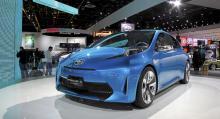 Konceptbilen Toyota Prius C.